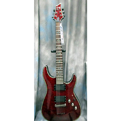 Schecter Guitar Research C1 Hellraiser Solid Body Electric Guitar Crimson Red Trans