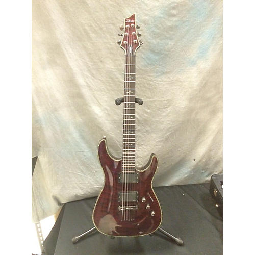 Schecter Guitar Research C1 Hellraiser Trans Red Solid Body Electric Guitar