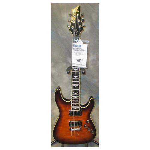 Schecter Guitar Research C1 Plus Vintage Sunburst Solid Body Electric Guitar