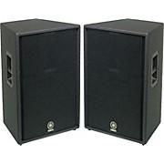"""Yamaha C115V 15"""" 2-Way Club Speaker Pair"""