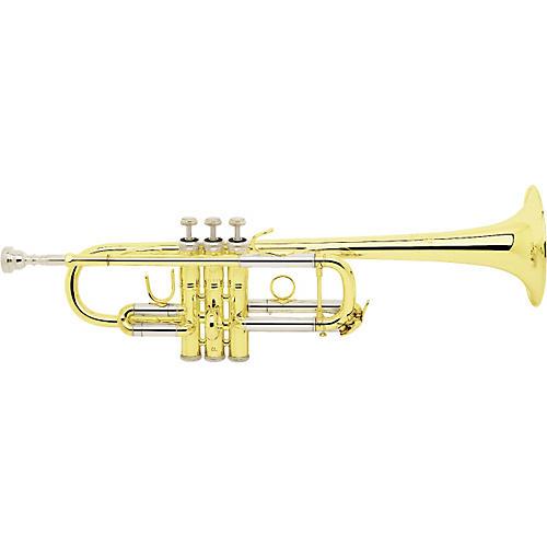 Bach C180 Stradivarius Series Professional C Trumpet C180L Lacquer L Bore229 Bell 25H Pipe