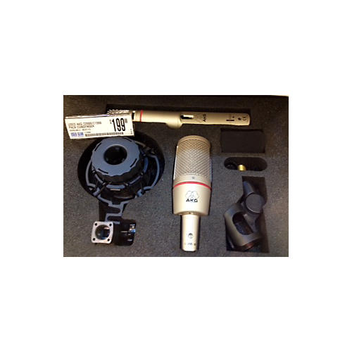 AKG C2000/c1000 Pack Condenser Microphone-thumbnail