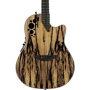 Ovation C2078AXP-RE Exotic Wood Elite Plus Royal Ebony Acoustic-Electric Gu... by Ovation