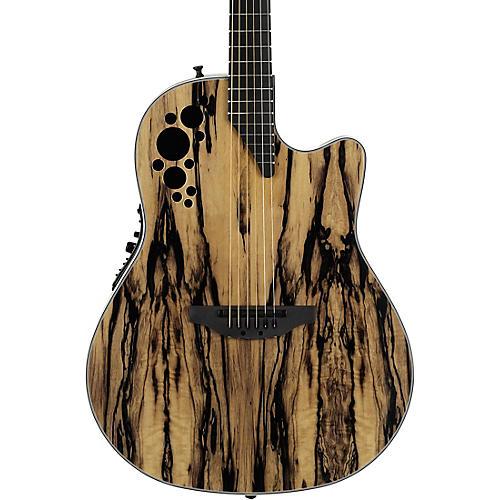 Ovation C2078AXP-RE Exotic Wood Elite Plus Royal Ebony Acoustic-Electric Guitar