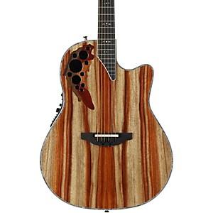 Ovation C2078AXP-SP Exotic Wood Elite Plus Striped Padauk Acoustic-Electric... by Ovation