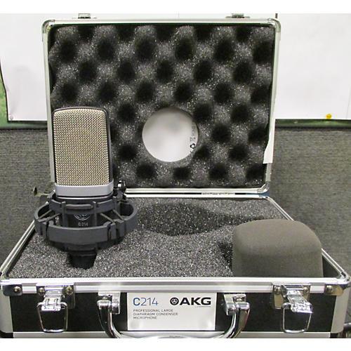 AKG C214 Condenser Microphone-thumbnail