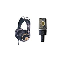 AKG C214 and K240 Mic and Headphone Package