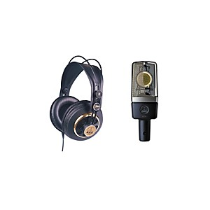 AKG C214 and K240 Microphone and Headphone Package by AKG