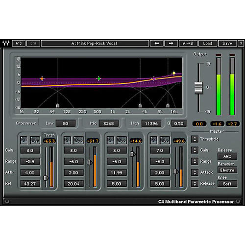 Waves C4 Multiband Compressor Native/TDM/SG Software Download
