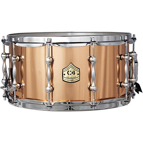 Crush Drums & Percussion C4 Series Die Cast Phosphor Bronze Snare Drum