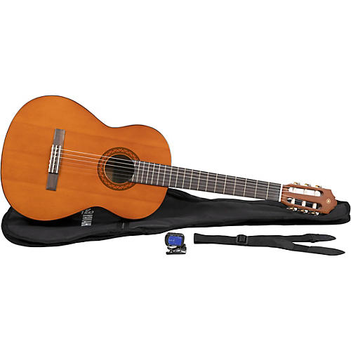 Yamaha C40 Gigmaker Classical Acoustic Guitar Pack (Natural)-thumbnail
