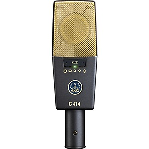 AKG C414 XL II Reference Multi-Pattern Condenser Microphone by AKG