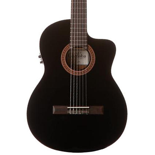 Cordoba C5-CEBK Classical Acoustic-Electric Guitar Black-thumbnail