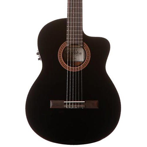 Cordoba C5-CET Classical Thinline Acoustic-Electric Guitar-thumbnail