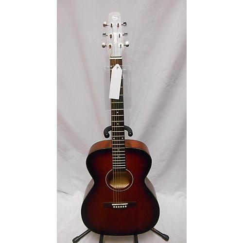 used seagull c6 acoustic electric guitar burnt umber guitar center. Black Bedroom Furniture Sets. Home Design Ideas