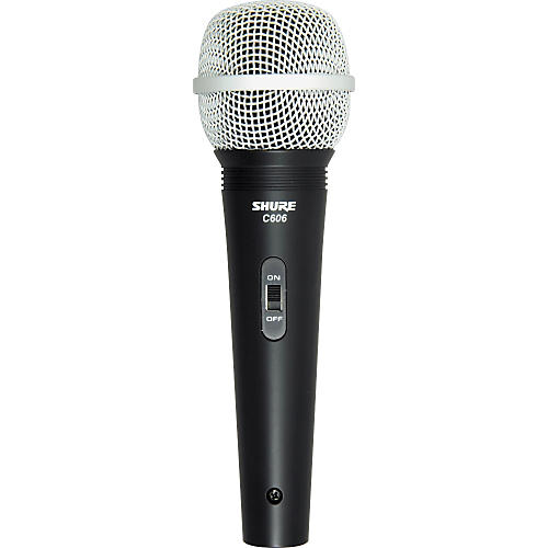 Shure C606N Vocal Microphone with 1/4