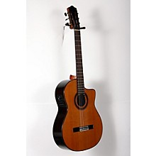 C7-CE CD Acoustic-Electric Nylon String Classical Guitar Level 2 Natural 888365895376
