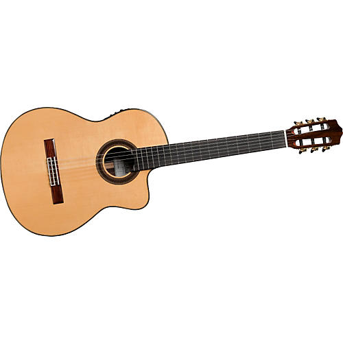 Cordoba C7-CE SP/IN Acoustic-Electric Nylon String Classical Guitar Natural