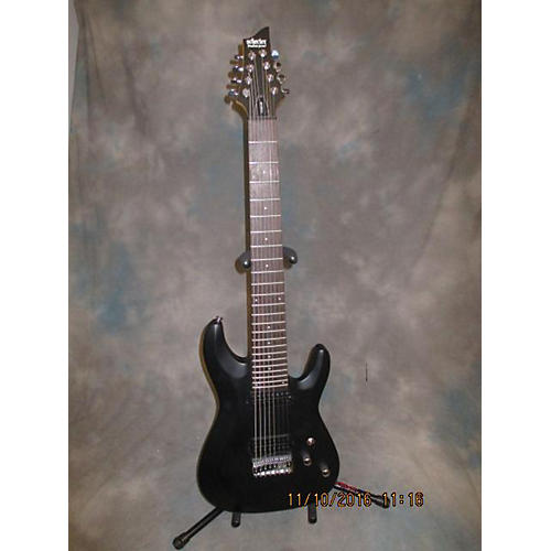 Schecter Guitar Research C8 DELUXE Solid Body Electric Guitar-thumbnail