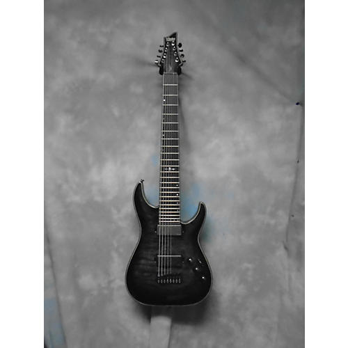 Schecter Guitar Research C8 Hellraiser Hybrid Solid Body Electric Guitar