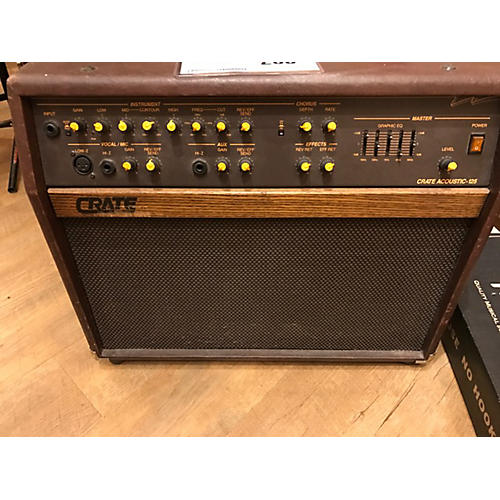 Crate CA 125 Acoustic Guitar Combo Amp