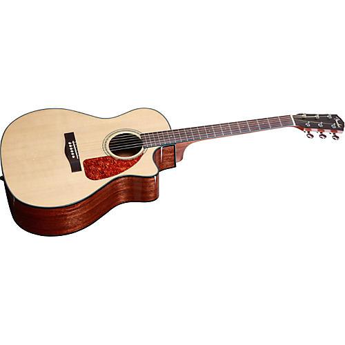 Fender CA 360SCE Auditorium Solid Top Cutaway Acoustic-Electric Guitar Natural