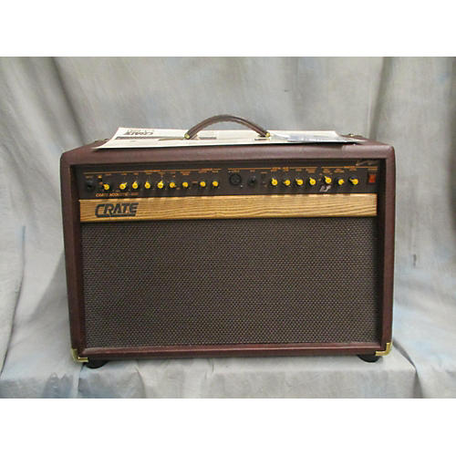 used crate ca 60d acoustic guitar combo amp guitar center. Black Bedroom Furniture Sets. Home Design Ideas