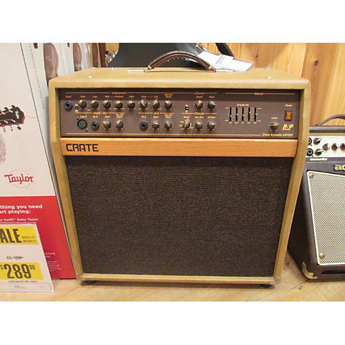 used crate ca112d acoustic guitar combo amp guitar center. Black Bedroom Furniture Sets. Home Design Ideas