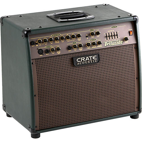 Crate CA125DG Telluride 125W Acoustic Amp with DSP Forest Green-thumbnail