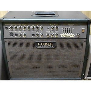 Pre-owned Crate CA125DG Telluride 125 Watt Acoustic Guitar Combo Amp by Crate