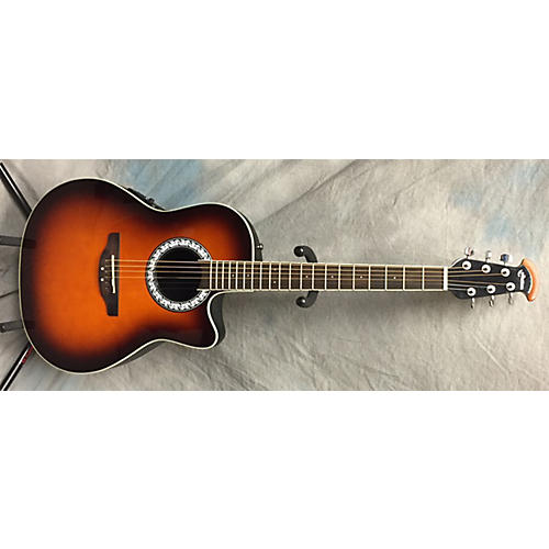 Ovation Celebrity Mid-Depth Acoustic-Electric Guitar ...