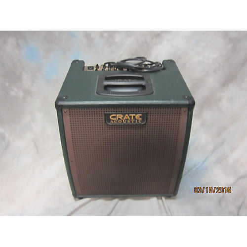 used crate ca6110dg gunnison acoustic guitar combo amp guitar center. Black Bedroom Furniture Sets. Home Design Ideas