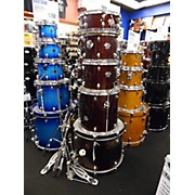 Premier CABRIA W/HIHAT AND CRASH RIDE AND STANDS Drum Kit