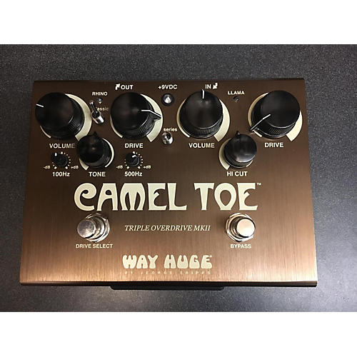 Way Huge Electronics CAMEL TOE Effect Pedal-thumbnail
