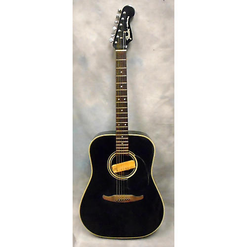 Fender CATALINA Acoustic Electric Guitar Black