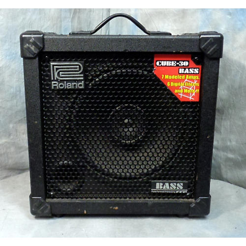 used roland cb 30 cube 30 bass bass combo amp guitar center. Black Bedroom Furniture Sets. Home Design Ideas