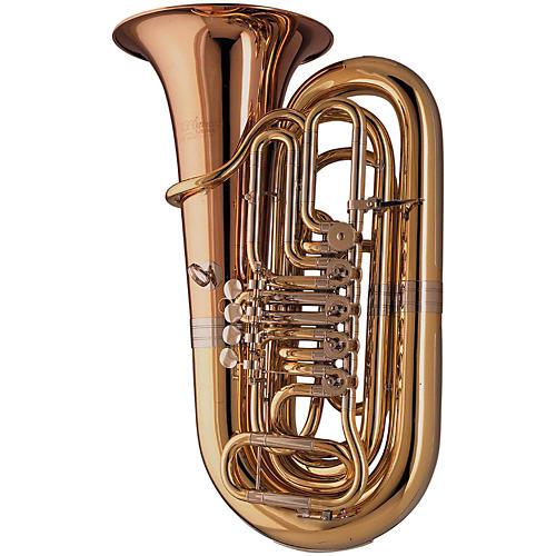 Cerveny CBB 883-5 Opera II Series 5-Valve 3/4 Bbb Tuba Instrument with Case