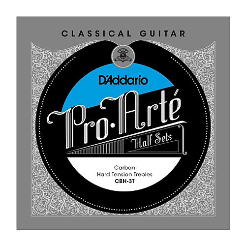D'Addario CBH-3T Pro-Arte Hard Tension Classical Guitar Strings Half Set-thumbnail