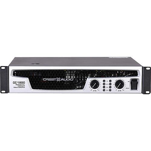 Crest Audio CC 1800 1850W Power Amplifier-thumbnail
