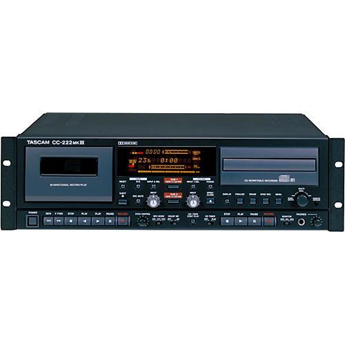 Tascam CC-222mkIII CD-RW/Cassette Combo