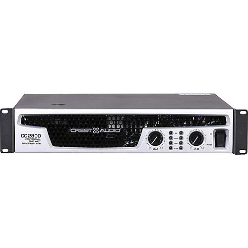 Crest Audio CC 2800 2800W Power Amplifier