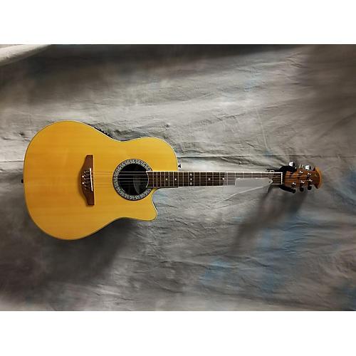 Ovation Celebrity CC057 Acoustic Electric Guitar Black ...