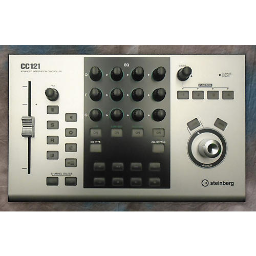 Steinberg CC121 Advanced Integration Controller MIDI Utility