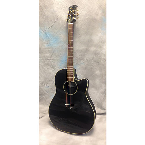 Ovation CC24 Celebrity Black Acoustic Electric Guitar
