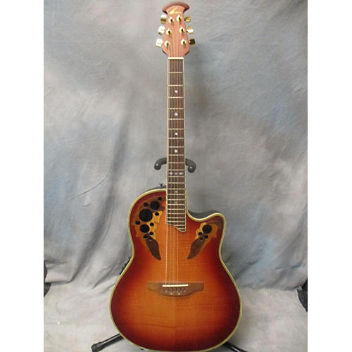 Ovation CC48 Celebrity Deluxe Acoustic Electric Guitar-thumbnail
