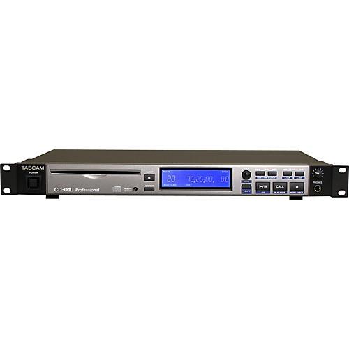 Tascam CD-01U Pro 1-Rackspace CD Player-thumbnail