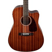 Fender CD-140SCE All Mahogany Acoustic-Electric Guitar