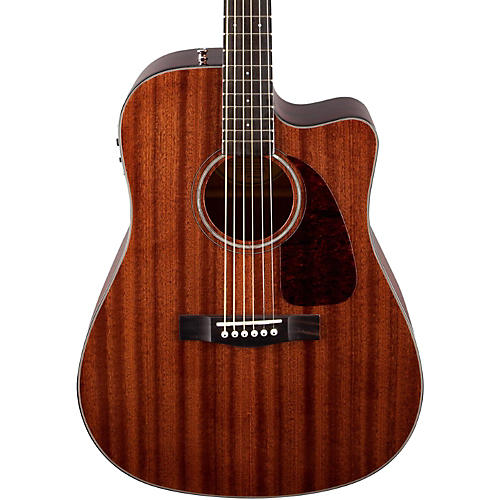 Fender CD-140SCE All Mahogany Acoustic-Electric Guitar Natural