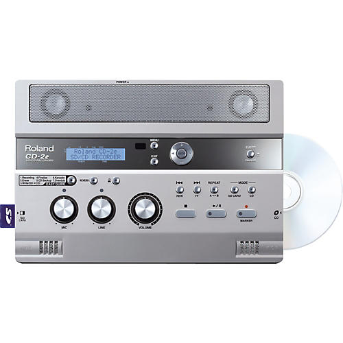 Roland CD-2e SD/CD Recorder-thumbnail