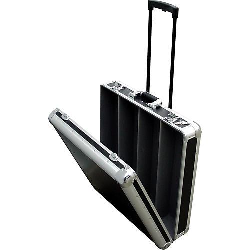 Eurolite CD-4RR 4-Row Rolling CD Case Black